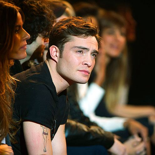 Rock & Republic for Kohl's Fashion Show - February 10, 2012. - ed-westwick Photo