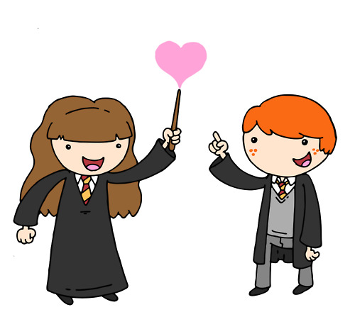 Ron and Hermione :)