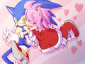 Rovu Rovu Sonikku - sonic-and-amy fan art