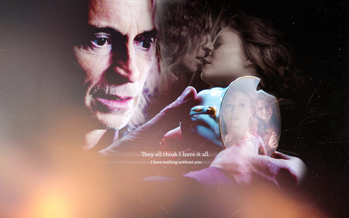 Rumpelstiltskin/Mr. Gold & Belle - once-upon-a-time Wallpaper