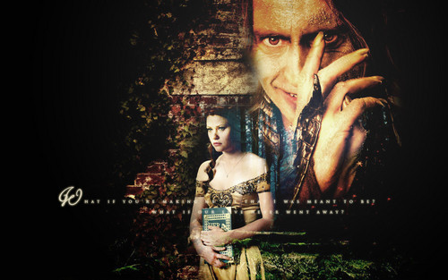 C'era una volta wallpaper possibly with a sign called Rumpelstiltskin & Belle