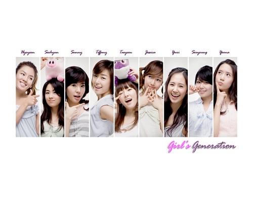 Girls Generation/SNSD wallpaper probably with a bridesmaid and a portrait titled SNSD