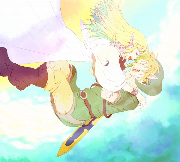 SS Zelink - Zelink Fan Art (29109515) - Fanpop Zelink Skyward Sword