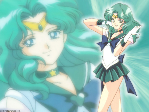 Sailor Neptune karatasi la kupamba ukuta containing anime called Sailor Neptune/Michiru Kaioh
