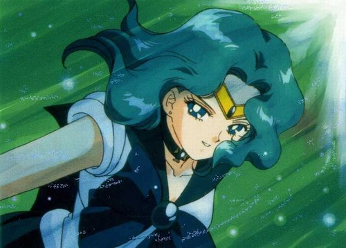 Sailor Neptune wallpaper containing anime entitled Sailor Neptune/Michiru