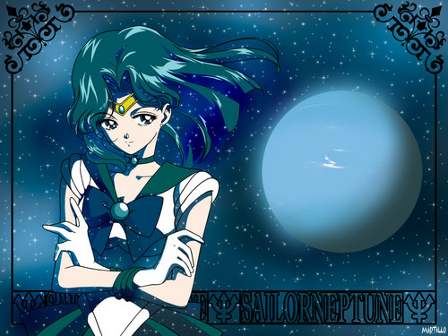 Sailor Neptune wolpeyper possibly with anime called Sailor Neptune
