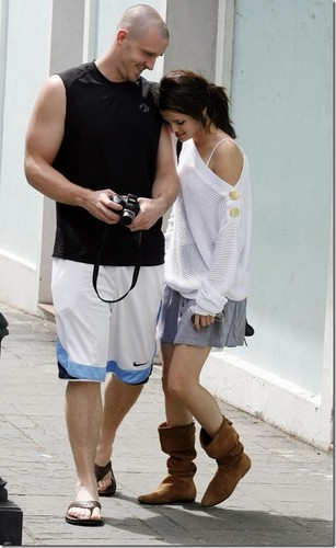 Selena With Her Dad