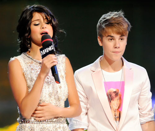 Selena With Justin On Much Музыка Award