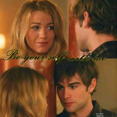 Serena and Nate <33