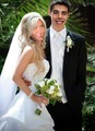 Sharapova and Vujacic wedding