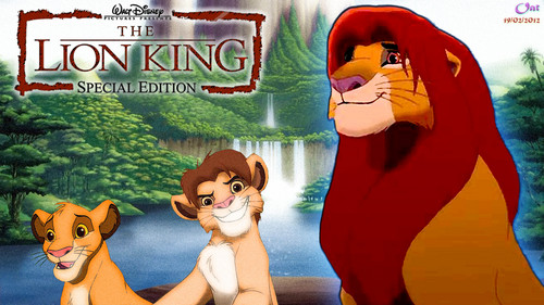 Simba Lion King Life kertas dinding HD