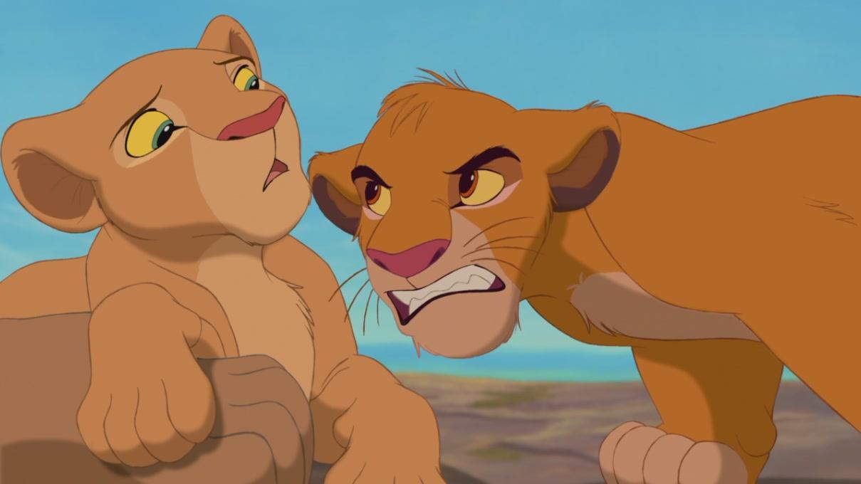 Simba And Nala Cubs Kiss | www.imgkid.com - The Image Kid ... Lion King Simba And Nala Cubs Kissing
