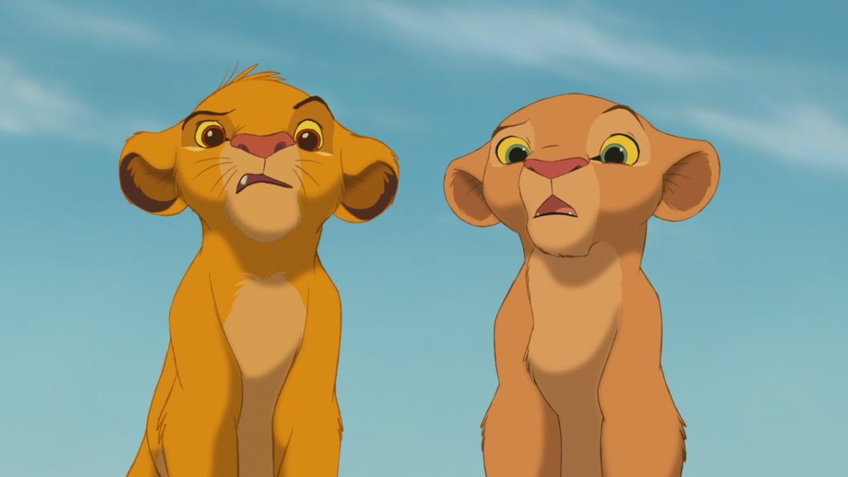 Simba & Nala (The Lion King) [Blu-Ray] - Simba & Nala