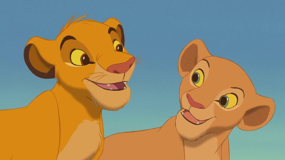 Simba & Nala (The Lion King) [Blu-Ray]