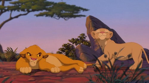 Lion King Simba And Nala Cubs Kissing | www.pixshark.com ...