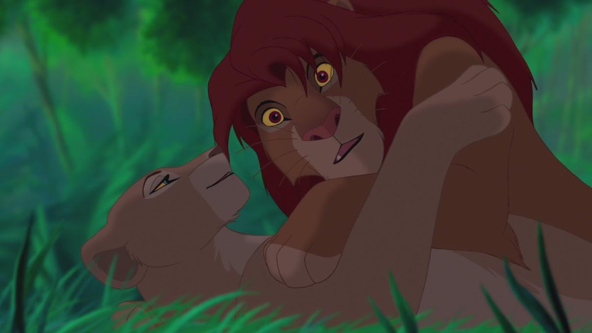 Simba & Nala (The Lion King) [Blu-Ray] - Simba & Nala ...