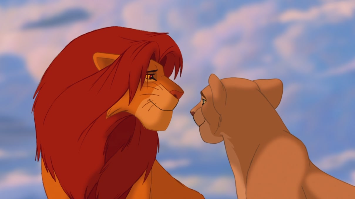 Simba And Nala Cubs Kiss | www.imgkid.com - The Image Kid ...
