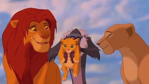 Simba & Nala (The Lion King) [Blu-Ray] - simba-and-nala Screencap
