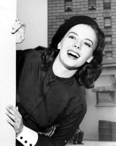 Natalie Wood wallpaper possibly with a sign titled Smile!!!
