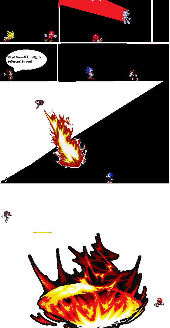 Sonic vs shadow vs knux pg 2