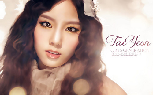 taeyeon (snsd) wallpaper possibly with a portrait entitled TAEYEON