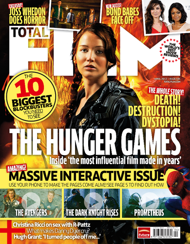 The Hunger Games Movie wallpaper with anime titled THG in TotalFilm magazine