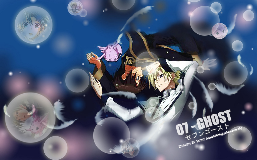 07 Ghost Images Teito And Hakuren Hd Wallpaper And Background Photos