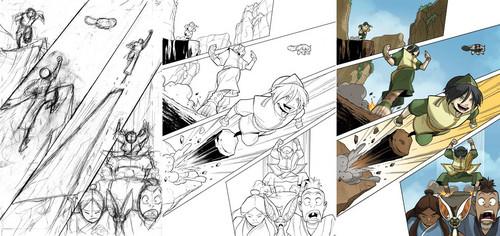 The Promise - Comic Progression