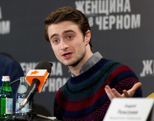 Daniel Radcliffe wallpaper called The Woman in Black Moscow Press Conference - February 16, 2012 - HQ