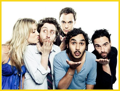The Big Bang Theory wallpaper containing a portrait titled The big bang theory Cast
