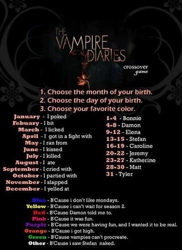 The vampire funny :)