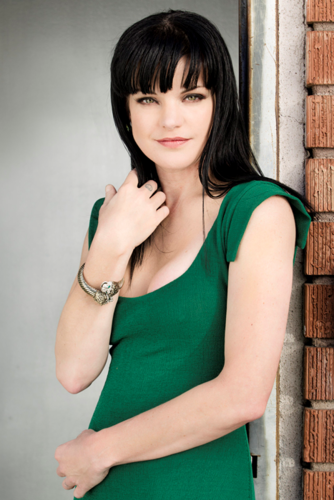 Pauley Perrette wallpaper possibly containing a chainlink fence and a portrait entitled Viva Magazine Photoshoot