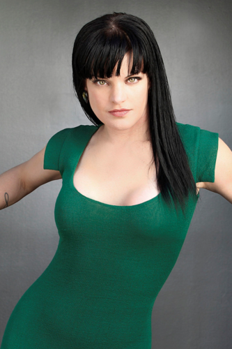 Pauley Perrette wallpaper containing a leotard entitled Viva Magazine Photoshoot
