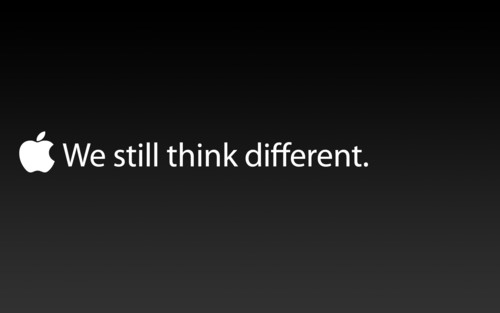 We still think Different
