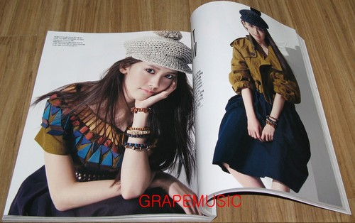 Im yoonA fond d'écran containing a fedora called Yoona @ VOGUE girl March 2012