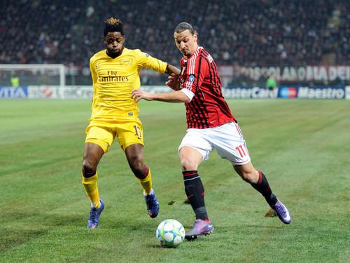 Z. Ibrahimovic (AC Milan - Arsenal)
