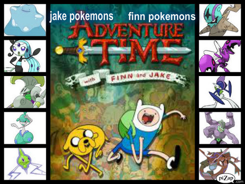 adventure time with pokemon?