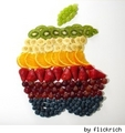 apple-logo-frut-salad - think-different photo