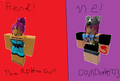 coolbailey223 and the robloxgurl - roblox fan art