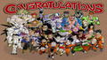 dragon ball budokai 3 all characters unlocked on pcsx2 - dragon-ball-z wallpaper