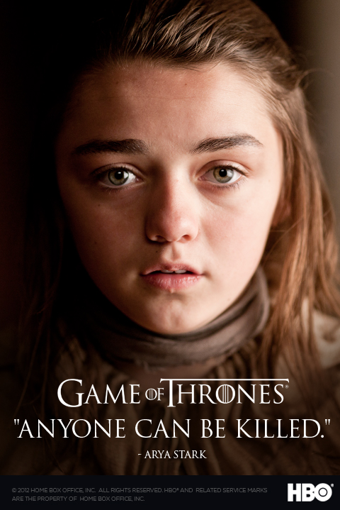 arya stark game of thrones photo 29131022 fanpop. Black Bedroom Furniture Sets. Home Design Ideas
