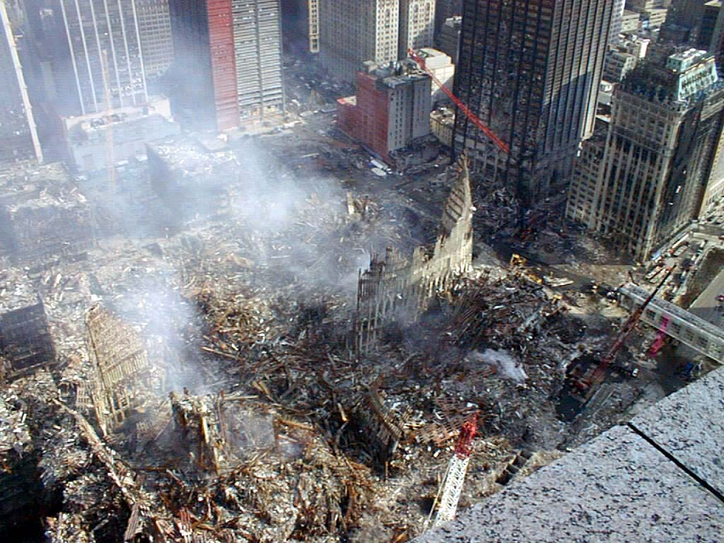 September 11, 2001 ground zero
