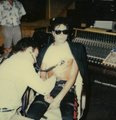he records his heartbeat for the smooth criminal intro - michael-jackson photo