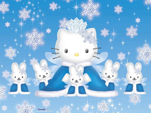 hello kitty winter