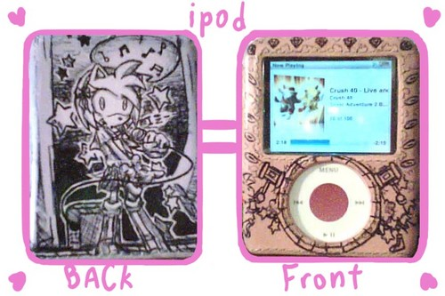 iPod wallpaper with an ipod and a video ipod called iPod
