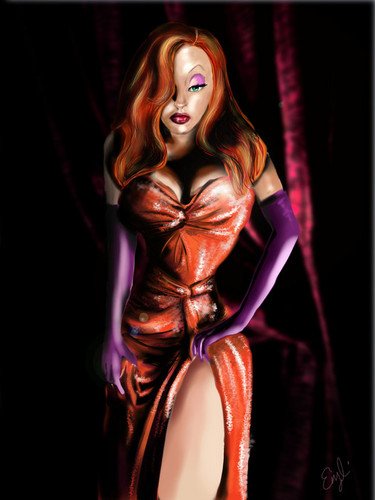 Jessica Rabbit Hintergrund titled jessica rabbit
