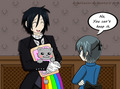 lol xD  - black-butler photo