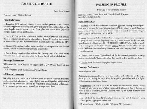 passenger thông tin các nhân