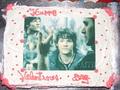 sam winchester Valentine cake