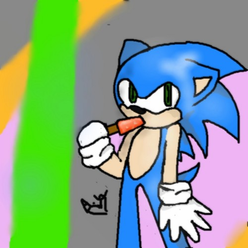 sonic and a icepop..